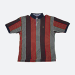 Vintage Tommy Hilfiger Striped Polo (XL)